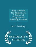 Easy Spanish for Beginners