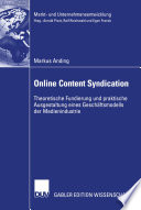 Online Content Syndication