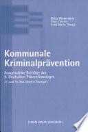 Kommunale Kriminalprävention