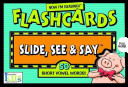 Now I m Reading   Slide  See and Say Flashcards  50 Short Vowel Words