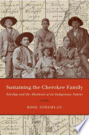 Sustaining the Cherokee Family
