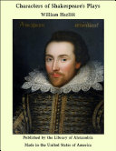 download ebook characters of shakespeare\'s plays pdf epub