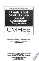 Disasters and Mental Health Book PDF
