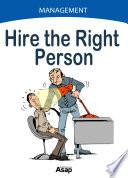 Hire the Right Person