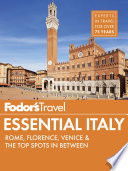 Fodor s Essential Italy