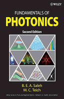 Fundamentals Of Photonics : edition is a self-contained and...