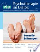 Psychotherapie im Dialog - Sexuelle Störungen
