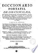 Diccionario portatil de los concilios