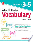 McGraw Hill Education Vocabulary Grades 3 5  Second Edition
