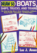 Draw 50 Boats  Ships  Trucks   Trains
