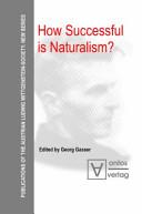How Successful is Naturalism  Book PDF