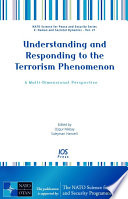 Understanding And Responding To The Terrorism Phenomenon