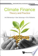Climate Finance  Theory And Practice