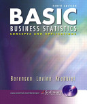 Basic Business Statistics and Student CD ROM