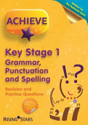 Achieve Ks1 Grammar Punctuation and Spelling Revision and Practice Questi