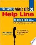 Mac OS X Help Line  Tiger Edition
