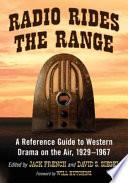 Radio Rides the Range