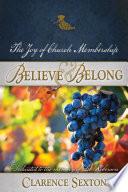 Believe and Belong