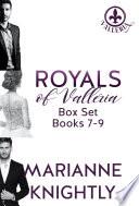 Royals Of Valleria Box Set Books 7 9