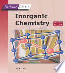 Instant Notes in Inorganic Chemistry