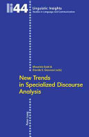 New Trends in Specialized Discourse Analysis