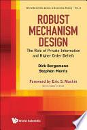 Robust Mechanism Design