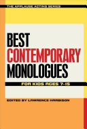 Best Contemporary Monologues for Kids Ages 7 15