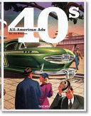 illustration All American Ads 40s. Ediz. inglese, francese e tedesca