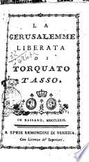 La Gerusalemme liberata di Torquato Tasso