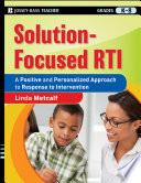 Solution Focused RTI