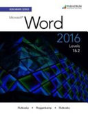 Microsoft Word 2016 Levels 1 and 2