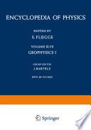 Geophysik I / Geophysics I