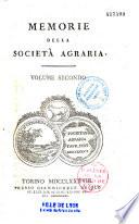 Memorie della reale Societa agraria di Torino