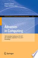 Advances in Computing