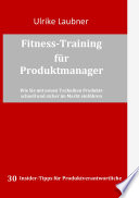 Fitness-Training für Produktmanager