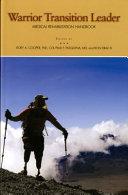 Warrior Transition Leader Medical Rehabilitation Handbook