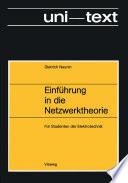 Einführung in die Netzwerktheorie