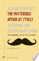 Agatha Christie's The Mysterious Affair at Styles in German and Dutch Translation