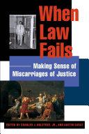 When Law Fails Book