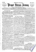 Prager Börsen-Zeitung