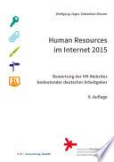 Human Rescources im Internet 2015