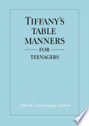 Tiffany S Table Manners For Teenagers