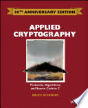 Applied Cryptography book