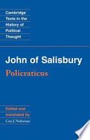 John of Salisbury: Policraticus