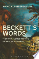 Beckett's Words Language In A Time When Our Old Faith