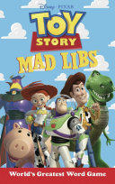 Toy Story Mad Libs : back in action with toy story mad libs....