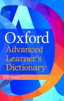 Oxford Advanced Learner S Dictionary International Student S Edition