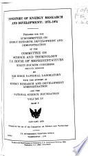 Inventory Of Energy Research And Development 1973 1975