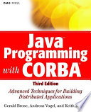 Java Programming With Corba