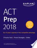 ACT Prep 2018